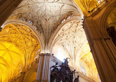Interior Catedral de Sevilla